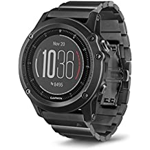 Garmin Fenix 3 HR, Slate Gray with Stainless Steel Band