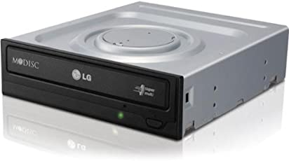 LG Electronics 24X SATA Super-Multi DVD Internal Rewriter with M-Disc Support (Black) GH24NS95B