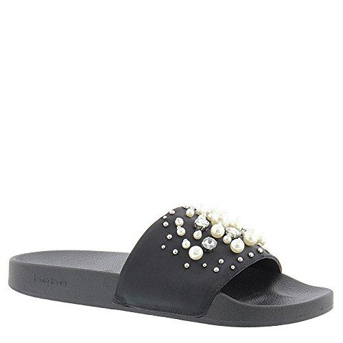 Bebe Womens Fenix Slide Sandale Noir