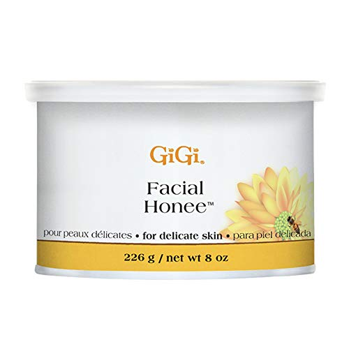 GiGi Facial Honee Hair Removal Wax for Delicate Skin, 8 oz