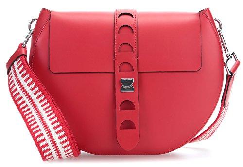 Coccinelle Carousel Design Bolsas de hombro rojo