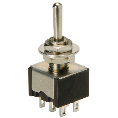 Parts Express DPDT Mini Toggle Center Off Momentary