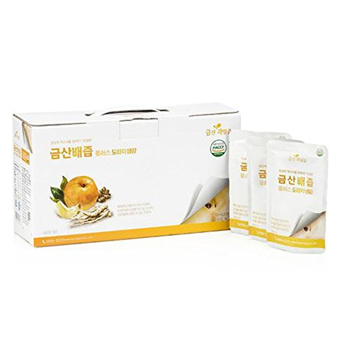 Borealized Ginger Juice 90ml 25pcs HACCP Cold Juice/Parents/Gift/Bundled Goods/Health/Drink/Essence/Gift/Special Price/Food