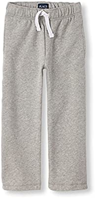 The Childrens Place Baby Boys Gym Uniform Fleece Pant