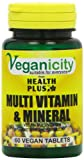Veganicity Multi Vitamin Plus Mineral General Health and WellBeing Supplement 60 Tablets
