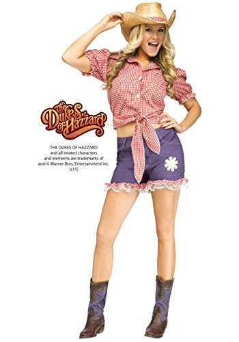 Daisy Duke Costume - Medium/Large - Dress Size 10-14 (Daisy Duke Costume For Adults)