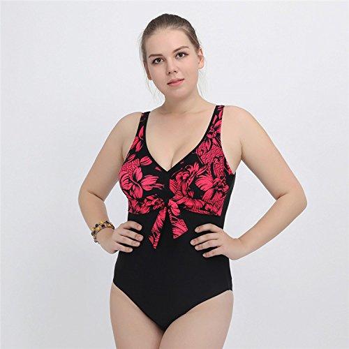 SHISHANG Sra. Del bikini traje de baño de cuerpo Europa y los Estados Unidos de playa del traje de baño de alta flexibilidad y protección del medio ambiente Red