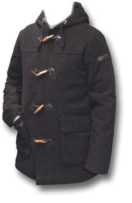 Schott Wool Duffle Coat (Large): Amazon.co.uk: Clothing