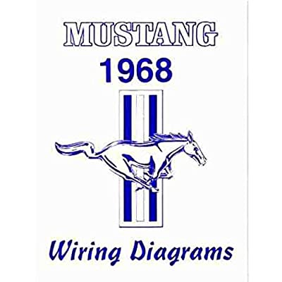 1968 FORD MUSTANG Wiring Diagrams Schematics: Automotive