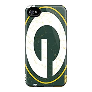 DannyLCHEUNG Iphone 4/4s Protective Hard Phone Cases Support Personal Customs Nice Green Bay Packers Series [Rba4194yQnX]