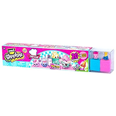 Shopkins Season 6 Chef Club Mega Pack – Collectible Toy with Over 20 pcs: Toys & Games
