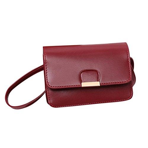 Handbags, Fashion Shoulder Bags ✦jiameng Women Casual Patchwork Buckle Small Handbag Flap Crossbody For Girls Red Ladies