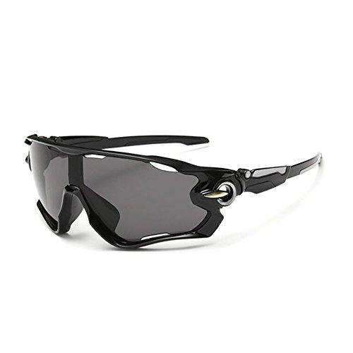 KRY - Lunettes de soleil sportives UV400pour homme, adaptées à la conduite, au golf, à la pêche, monture incassable en métal 3