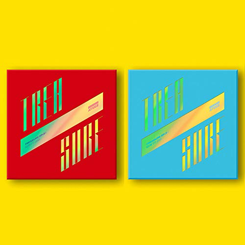 (KQ ATEEZ - Treasure EP.3 : One to All [Illusion+Wave ver. Set] 2CD+2Photobooks+6Photocards+16Postcards+On Pack Posters+Stickers+Double Side Extra Photocards Set)