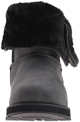 Skechers Scarpe Button Mid Keepsakes Donna blk Nero Tecniche Leatherette rnqTr4xWR