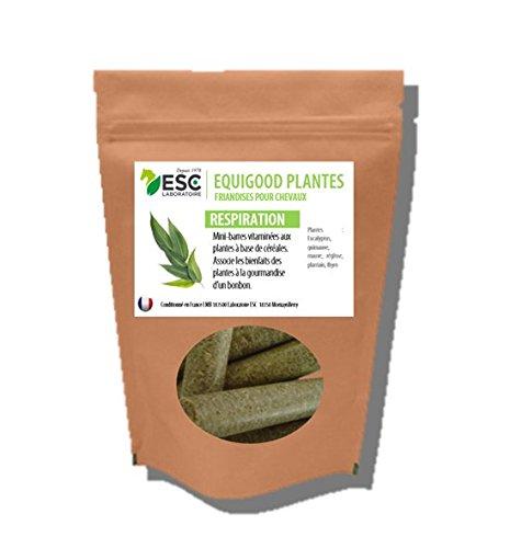 ESC LABORATOIRE ESC - Friandises chevaux - Equigood Plantes Respiration - seau de 1 kg (photo en 500 gr) …