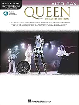 Queen - Updated Edition: Alto Sax Instrumental Play-Along