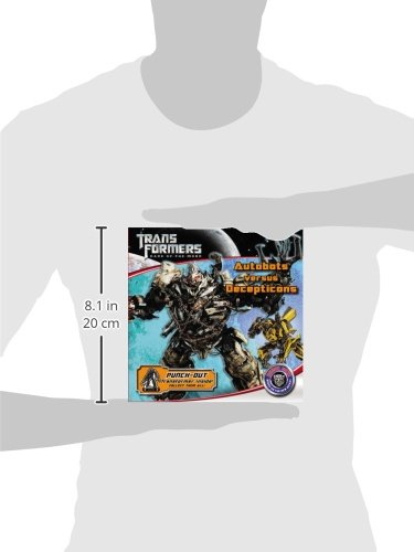 Transformers Dark of the Moon: Autobots Versus Decepticons (Transformers: Dark of the Moon (Little Brown)) by LB Kids