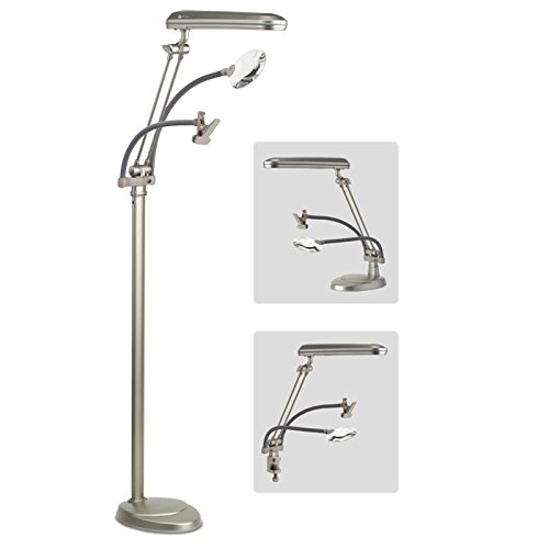ottlite 3 in 1 craft floor lamp amazon co uk lighting