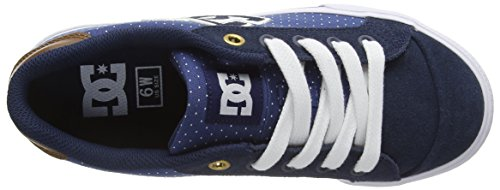 Bleu Chelsea Shoes Sneakers DC Xbcw Se Basses Femme wYq5xFS