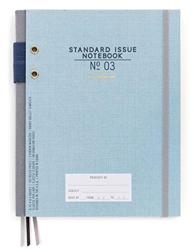 DesignWorks Ink Standard Issue Bound Personal Journal, Blue