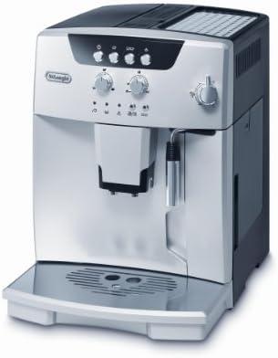 Delonghi Magnifica ESAM 4.110 S Maquina De Espresso Con Molinillo Integrado, 1450 W, 1.8 Litros, Acero Inoxidable, Plateado: Amazon.es: Hogar