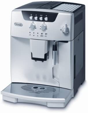 Delonghi Magnifica ESAM 4.110 S Maquina De Espresso Con Molinillo Integrado, 1450 W, 1.8 Litros, Acero Inoxidable, Plateado
