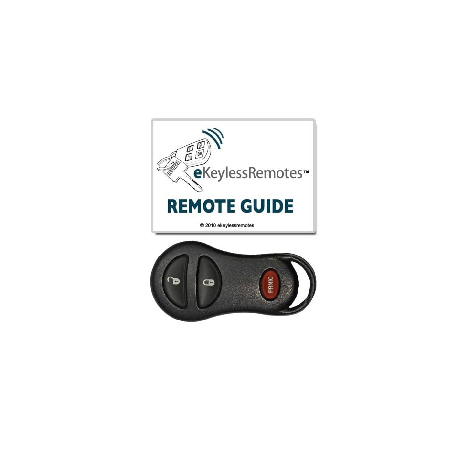 2002 2005 Dodge Ram 1500 & 2500 Keyless Entry Remote Fob With Free Do It Yourself Programming (Must Have One Working Remote) Free eKeylessRemotes Guide