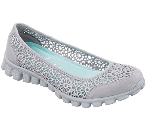 Flex Grey 2 Ballerine Skechers Ez nbsp;sweetpea Light Donna 5ScU1q