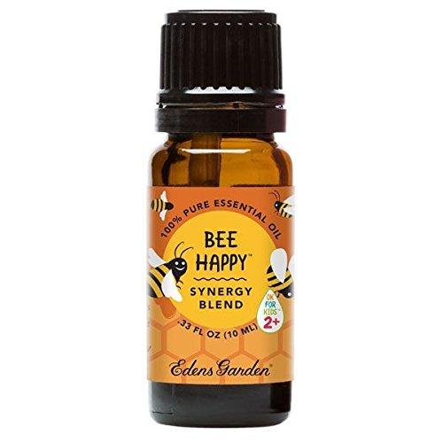 Edens Garden Bee Happy Ok for Kids Synergy Blend Essential O