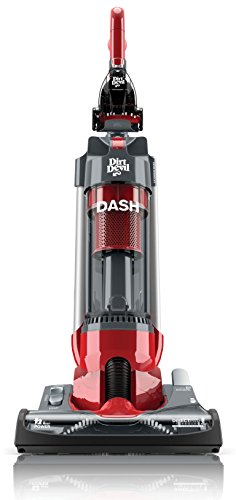 Dirt Devil - Dash Bagless Upright Vacuum - Red/gray