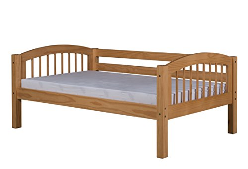 Camaflexi Arch Spindle Style Solid Wood Day Bed, Twin, Natural
