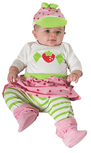 Rubie's Costume Baby Girl's Strawberry Shortcake Baby Costume, Multi, 0-6 Months