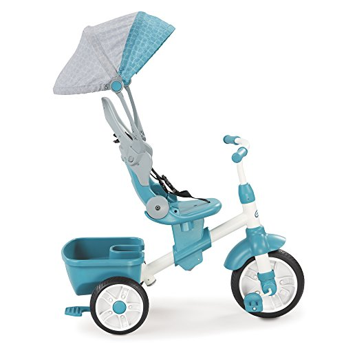 11. Little Tikes Perfect Fit 4-in-1 Trike, Teal