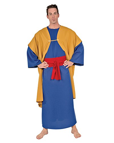 Summitfashions Wiseman Theatre Costumes Christmas Christianity Religion Costume Blue Sizes: One Size -