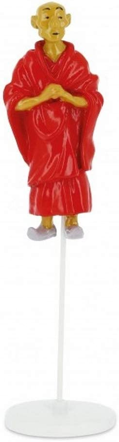 Figurine Tintin du moine tib/étain Bendito collection cartes de voeux 1972 46518