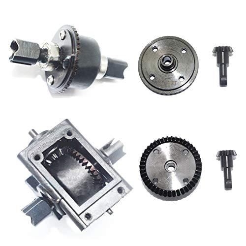 FidgetGear 1/8 Front+Rear Steel Differential Gear Gearbox for Arrma Kraton Tailon Typhon RC - Kraton Box