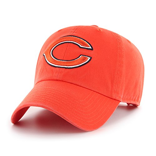 - NFL Chicago Bears Male OTS Challenger Adjustable Hat, Orange, One Size