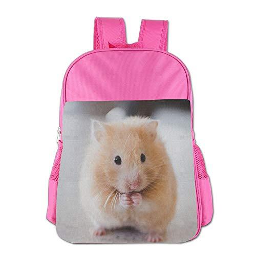 Cute Hamster Adjustable Boys Girls Teens Schoolbag Backpacks Bags by HYTRG