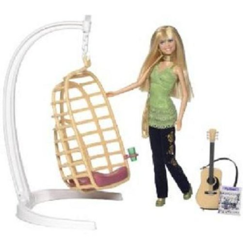 Hannah Montana House Song Writin8217; Swing Set with Hannah Doll