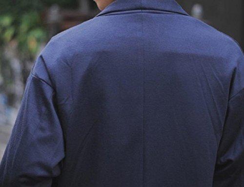 Giacca Montati Mogogo Tuta Giacca Cappotto Fine Maglia Immagine Mens Come Lavoro A Settimana Lungo Metà A wXFdqq5U