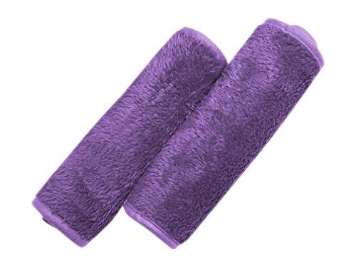 2 Pack Purple Secret Makeup Remover Face Cloth - Reusable M