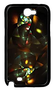 Fun Day Art Deco Feeling Design Hard Case For Samsung Galaxy Note 2 N7100 -1126064