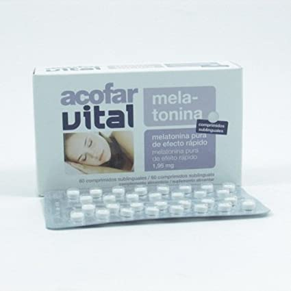 Acofarvital Melatonina 1.95 Mg 60 Sublin