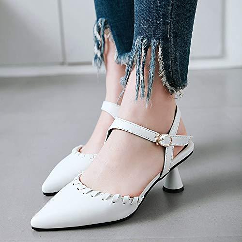 Chaussures Cheville Femmes Dress Tailles Sandales Bride Bleu Mini Lydee Elegant TqtXxdX4