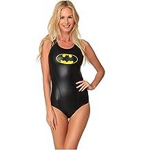 Dc Comics Batgirl Bathing Swimsuit One Piece Swimsuit athletic Fashion Beachwear