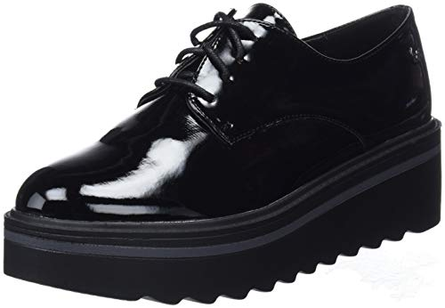 Damen Schwarz Negro Negro XTI 48491 Oxfords Y6SxYnH