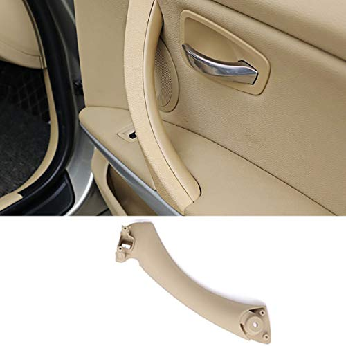 Door Handle Pull Strap For BMW 3 Series E90 E91, TTCR-II Beige Right Front/Rear Interior Door Panel Handle Passenger Side Door Handle Inner Bracket (Fits: 323 325 328 330 335 - Passenger Rear Panel Door