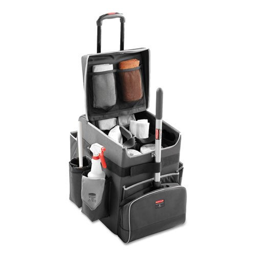 Rubbermaid Commercial Products Executive Janitorial Housekeeping Quick Cart