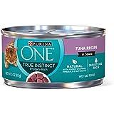 Purina One True Instinct Recipes Wet Cat Food, Tuna In Sauce, (24) 3 Oz. Cans